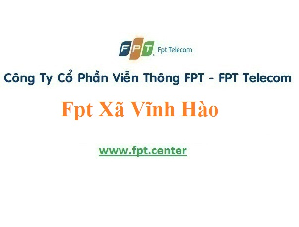 Lắp Đặt Mạng Fpt Xã Vĩnh Hào Ở Vụ Bản tại Nam Định