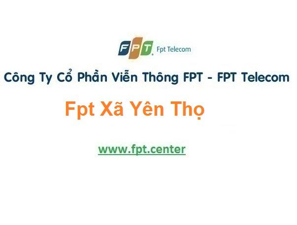 Lắp Đặt Mạng Fpt Xã Yên Thọ Ở Ý Yên tại Nam Định