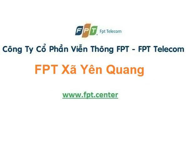Khuyến Mãi Lắp Mạng Fpt Xã Yên Quang Ở Ý Yên tại Nam Định