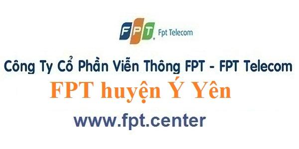 Đăng ký lắp đặt internet FPT huyện Ý Yên tỉnh Nam Định