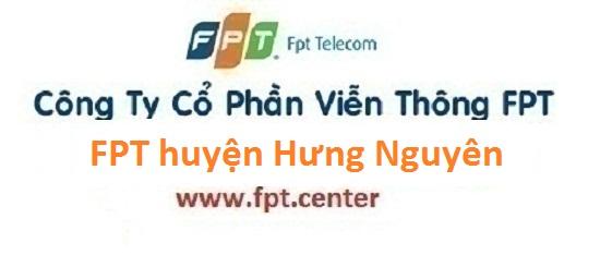 Lắp đặt internet FPT huyện Hưng Nguyên tỉnh Nghệ An