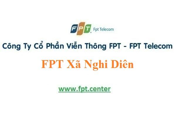 Đăng Ký Lắp Mạng Fpt xã Nghi Diên tại địa bàn Nghi Lộc