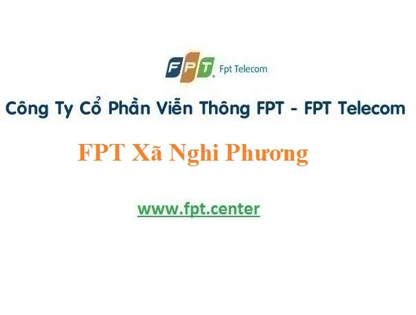 Đăng Ký Internet và Truyền Hình Fpt xã Nghi Phương