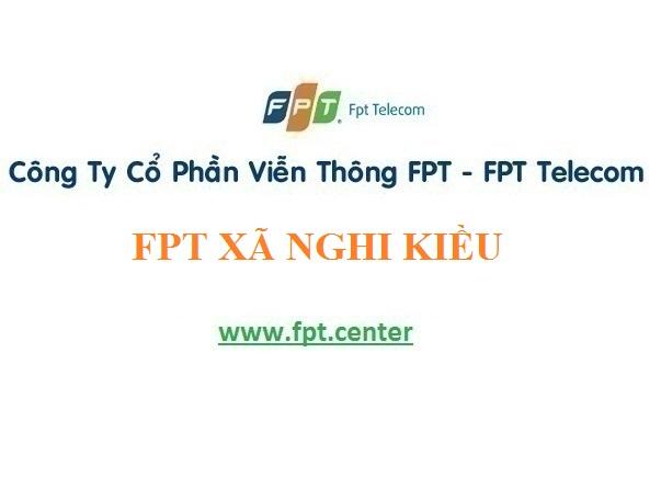 Dịch vụ lắp đặt mạng wifi Fpt xã Nghi Kiều tại khu vực Nghi Lộc