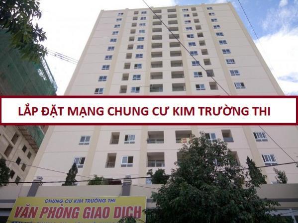 Đăng ký lắp mạng wifi cáp quang căn hộ Kim Trường Thi