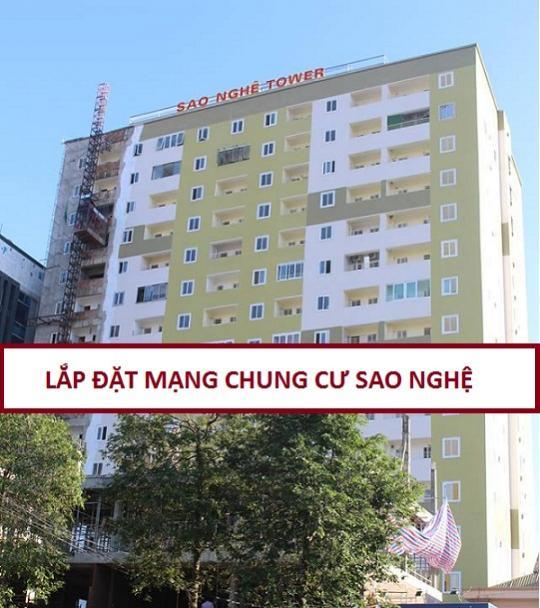 Đăng ký lắp đặt cáp quang căn hộ chung cư Sao Nghệ