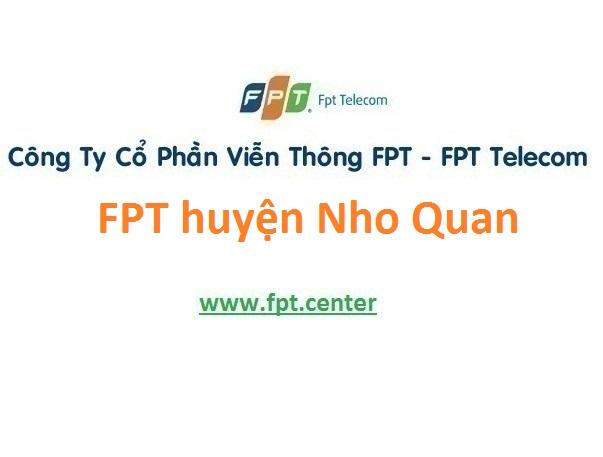 Lắp đặt mạng FPT huyện Nho Quan tỉnh Ninh Bình
