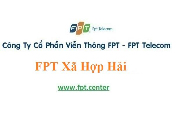 Lắp Đặt Internet WiFi Fpt xã Hợp Hải ở tại Lâm Thao