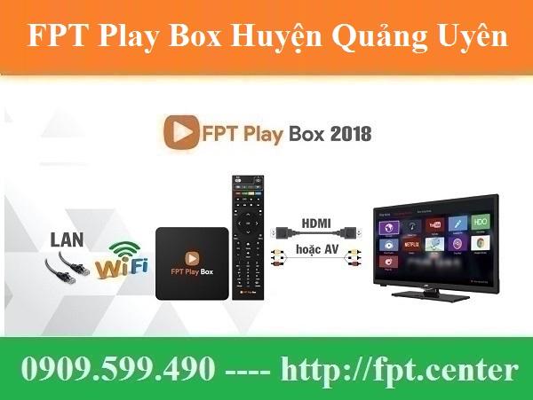 Bán FPT Play Box Huyện Quảng Uyên tỉnh Cao Bằng Uy Tín Chính Hãng