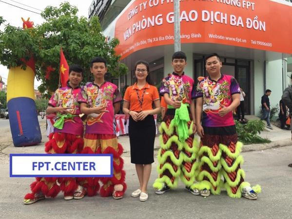 Phòng giao dịch Fpt Ba Đồn chi nhánh 144 Hùng Vương