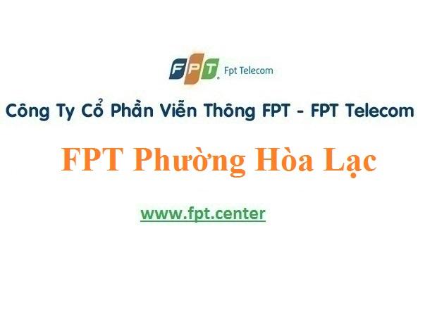 Lắp Đặt Mạng FPT Phường Hòa Lạc TP Móng Cái Quảng Ninh
