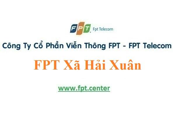 Lắp Mạng FPT Xã Hải Xuân Thành Phố Móng Cái Giá Ưu Đãi