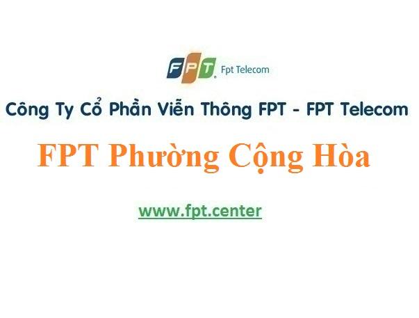 Lắp Đặt Mạng FPT Phường Cộng Hòa ở Quảng Yên Quảng Ninh
