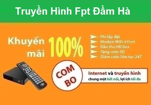 Đăng ký truyền hình Fpt huyện Đầm Hà