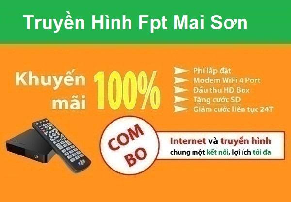 Đăng ký truyền hình fpt huyện Mai Sơn