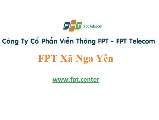 Lắp Mạng FPT Xã Nga Yên