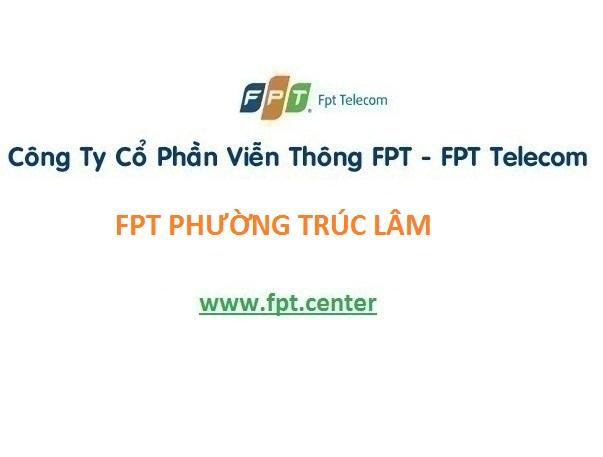 Lắp đặt mạng Fpt phường Trúc Lâm, Nghi Sơn Thanh Hóa