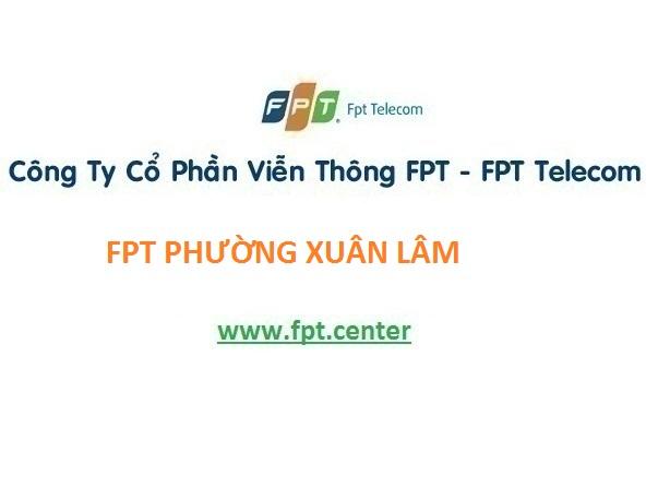 Lắp mạng fpt phường Xuân Lâm, Tx. Nghi Sơn Thanh Hóa