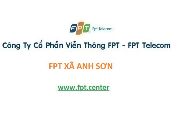 Lắp đặt internet fpt xã Anh Sơn ở Tx Nghi Sơn, Thanh Hóa