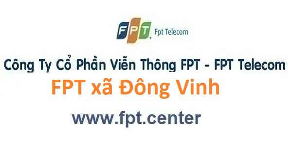 Đắng ký internet wifi FPT xã Đông Vinh thành phố Thanh Hoá