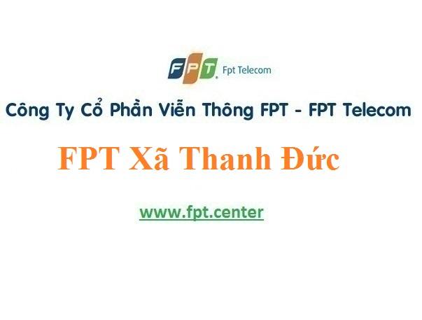 Lắp Đặt Mạng FPT Xã Thanh Đức Tại Long Hồ Vĩnh Long