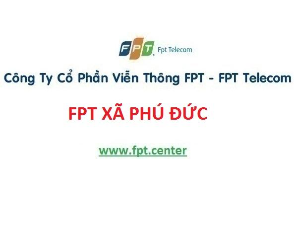 Lắp mạng Fpt xã Phú Đức