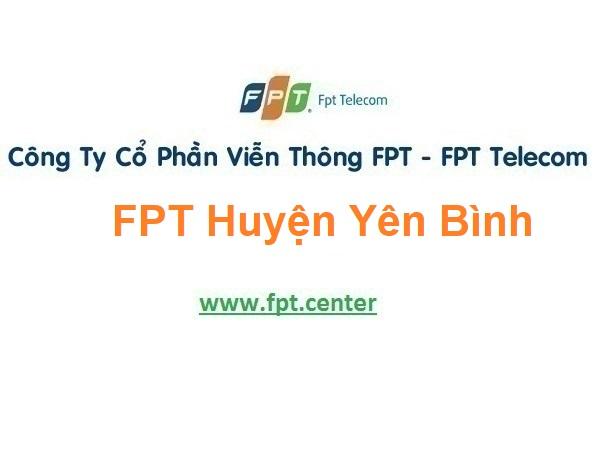 Lắp Đặt Mạng Fpt Huyện Yên Bình Tỉnh Yên Bái
