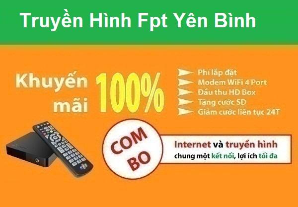 Đăng ký truyền hình Fpt huyện Yên Bình