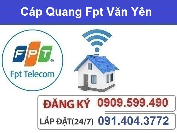 Đăng ký cáp quang fpt huyện Văn Yên