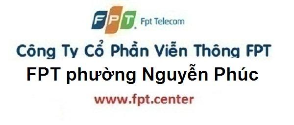 Lắp đặt mạng FPT phường Nguyễn Phúc thành phố Yên Bái