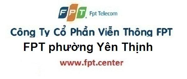 Lắp internet wifi FPT phường Yên Thịnh thành phố Yên Bái
