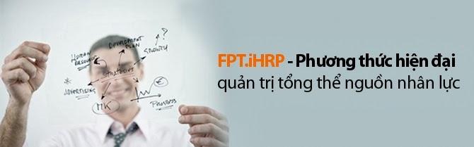 FPT.iHRP - Phần mềm quản lý nhân sự và tiền lương