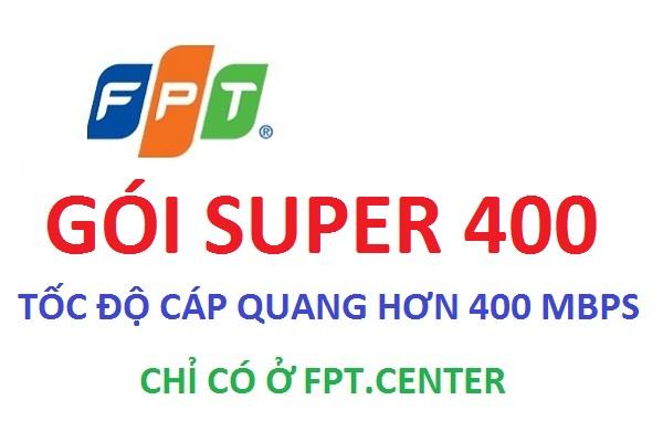 Gói cước cáp quang Super 400 dành cho công ty