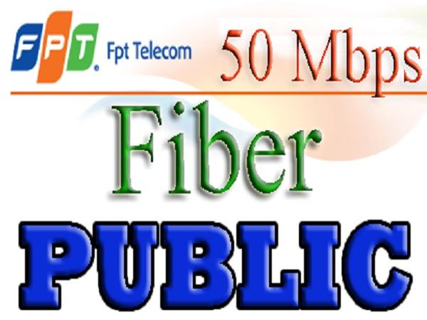 Gói cước cáp quang FPT Fiber Public+ cho phòng nét game