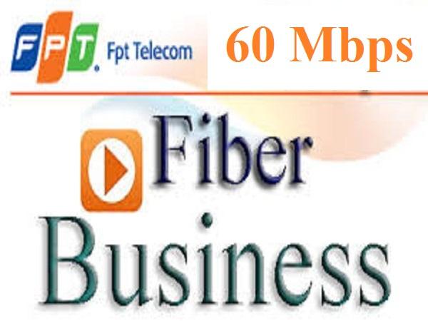 Gói cước mạng cáp quang FPT Fiber Business tốc độ 60 Mbps