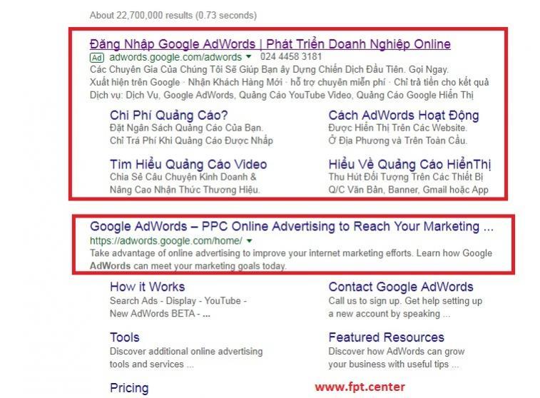 Hướng dẫn Đăng Ký Tạo Tài Khoản Google Adwords