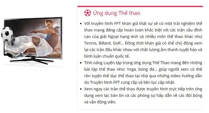 Khuyến mãi truyền hình FPT - Truyền hình HD FPT