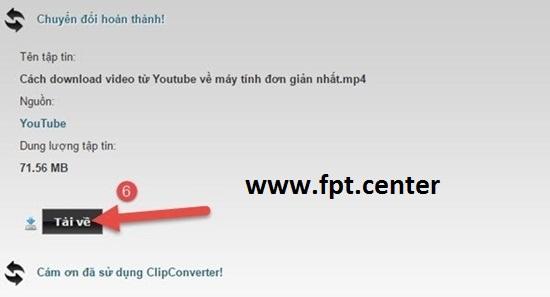 Cách Tải Nhạc Trên Youtube Về Máy Tính với đuôi MP3