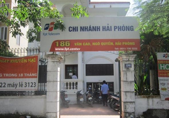 Mở Chi nhánh Phòng Giao Dịch FPT Hải Phòng