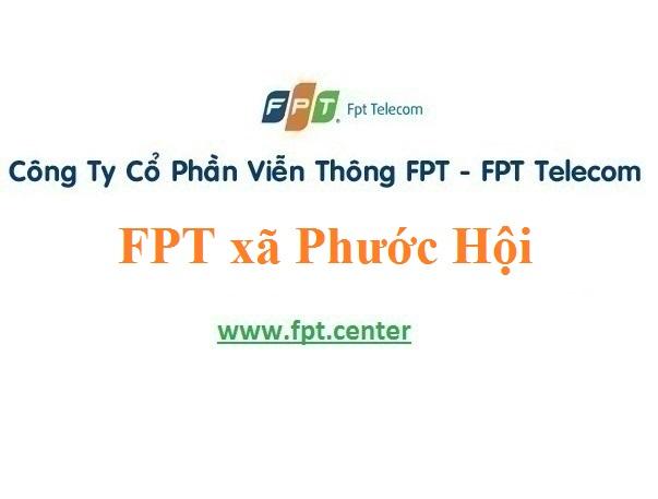 Lắp đặt mạng FPT xã Phước Hội huyện Đất Đỏ