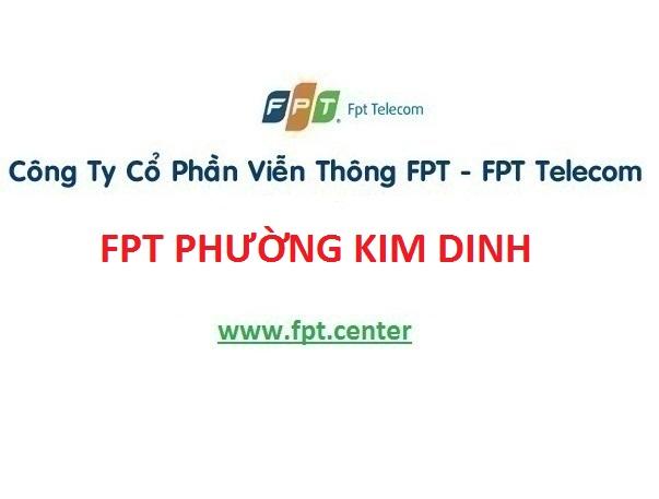 Lắp mạng Fpt phường Kim Dinh