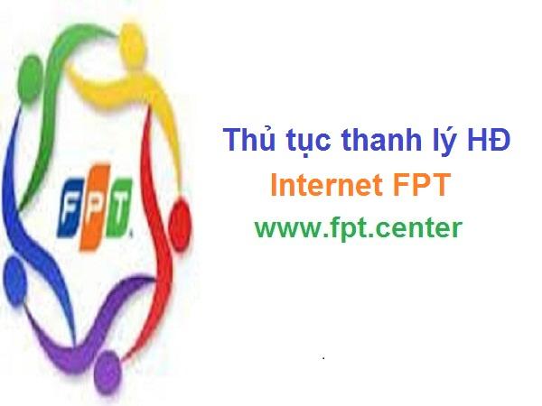 Thủ tục thanh lý hợp đồng mạng internet FPT
