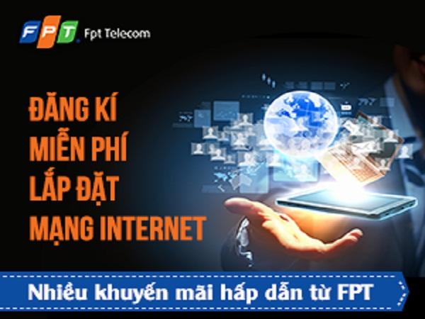 Lắp đặt internet FPT TPHCM & Hà Nội để khách hàng có thể sử dụng mạng internet FPT tốc độ cao cho khách hàng trải nghiệm