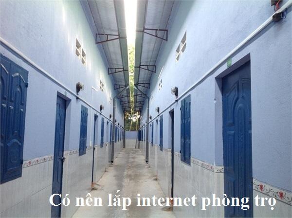 Lắp đặt mạng internet FPT cho Nhà Trọ để kinh doanh phòng trọ