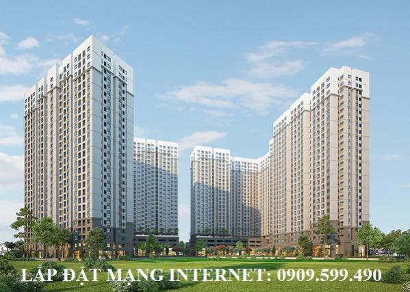 Lắp đặt mạng internet ở căn hộ AIO CITY