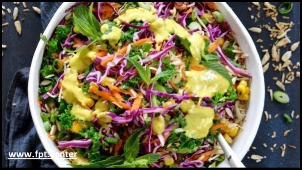 Cách làm món salad cầu vồng cho bữa cơm thêm ngon miệng