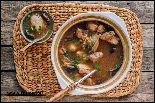 Cách nấu món súp gà nấm hương thơm ngon đậm đà