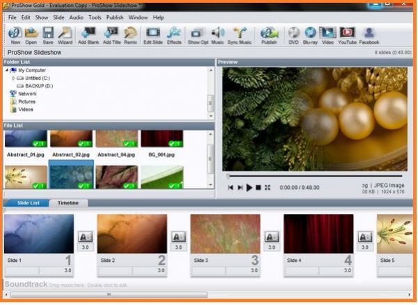 Tải ProShow Gold 8 Full Crack - Phần mềm cắt ghép chỉnh sửa video tốt nhất