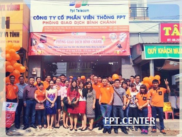 FPT Khai trương phòng giao dịch FPT Bình Chánh TPHCM