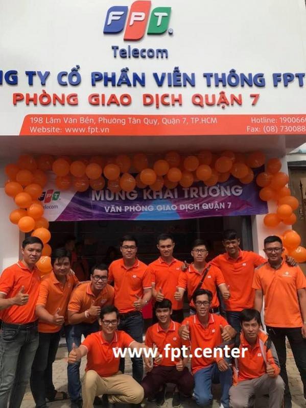 Văn Phòng Giao Dịch FPT Quận 7 Chi Nhánh 198 Lâm Văn Bền